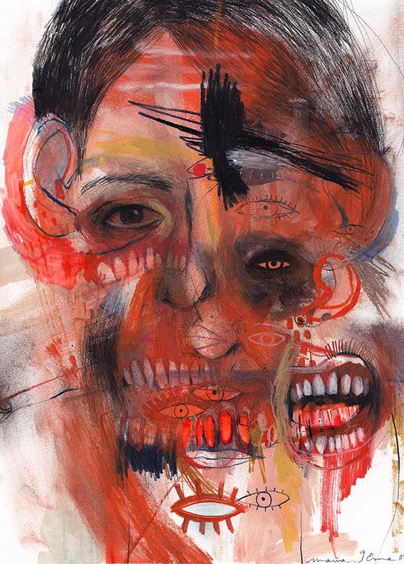 Marina Gonzalez Eme, Portraits. Intense, often... - SUPERSONIC ART