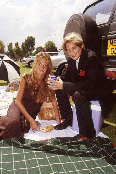 Jemima goldsmith with her brother ben goldsmith