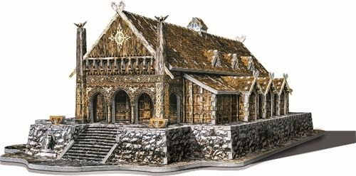 Lover of Lembas: Blog-ust: The Golden Hall of Meduseld