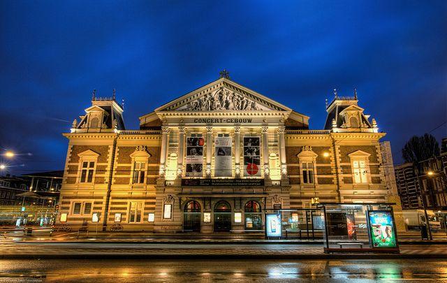 Concertgebouw, Amsterdam, Holland