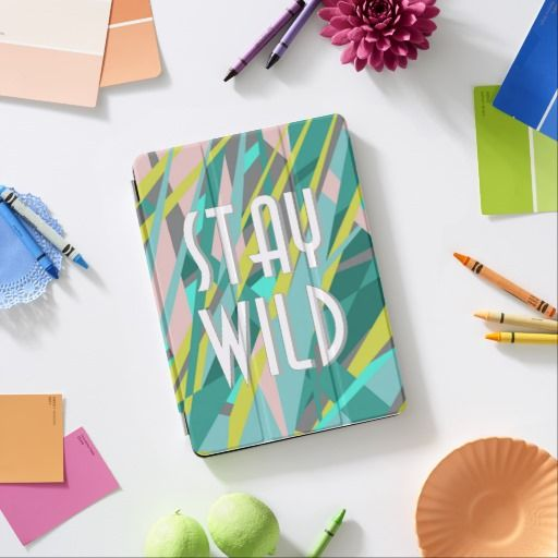 stay wild iPad air cover