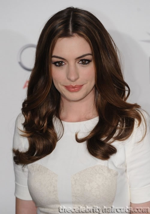 Hair and makeup - anne hathaway
