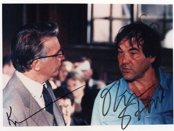 KEVIN COSTNER & OLIVER STONE Hand Signed 10x8 - JFK - UACC RD#289 in Collectibles, Autographs, Movies | eBay