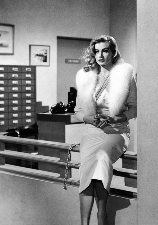 Anita Ekberg in Back From Eternity (1956)