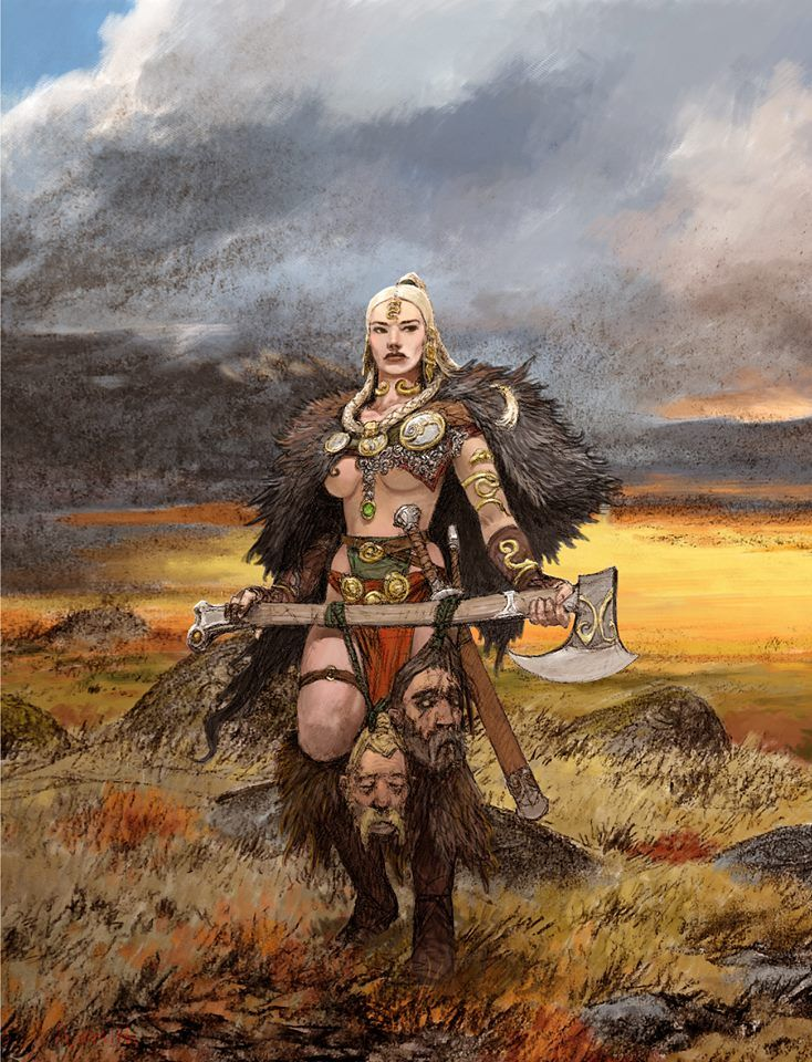 387 best images about ART - FANTASY - Barbarians on ...