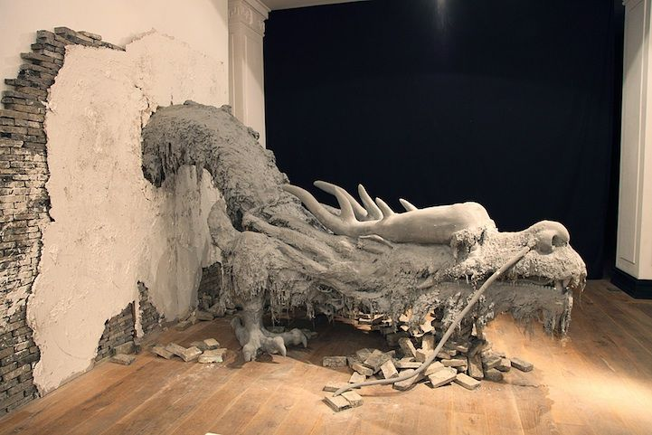 Yang Yongliang: Cement Dragon, Living Rooms, The Artists, Artists Call, Sweet Dragon, Yongliang Installations, Yang Yongliang, Artists Yang, Art Urbana