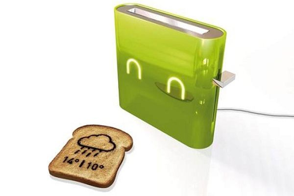 A Toaster That Gives You The Weather Forecast !