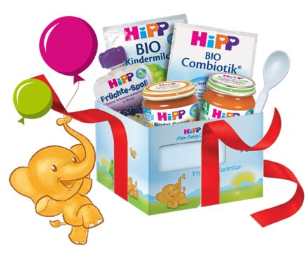 Jetzt kostenlos im HiPP Mein BabyClub anmelden & viele Vorteile sichern: Wertvolle Informationen, altersgerechte Ernährungs- und Pflegetipps, ausgewählte Produktproben und vieles mehr!
