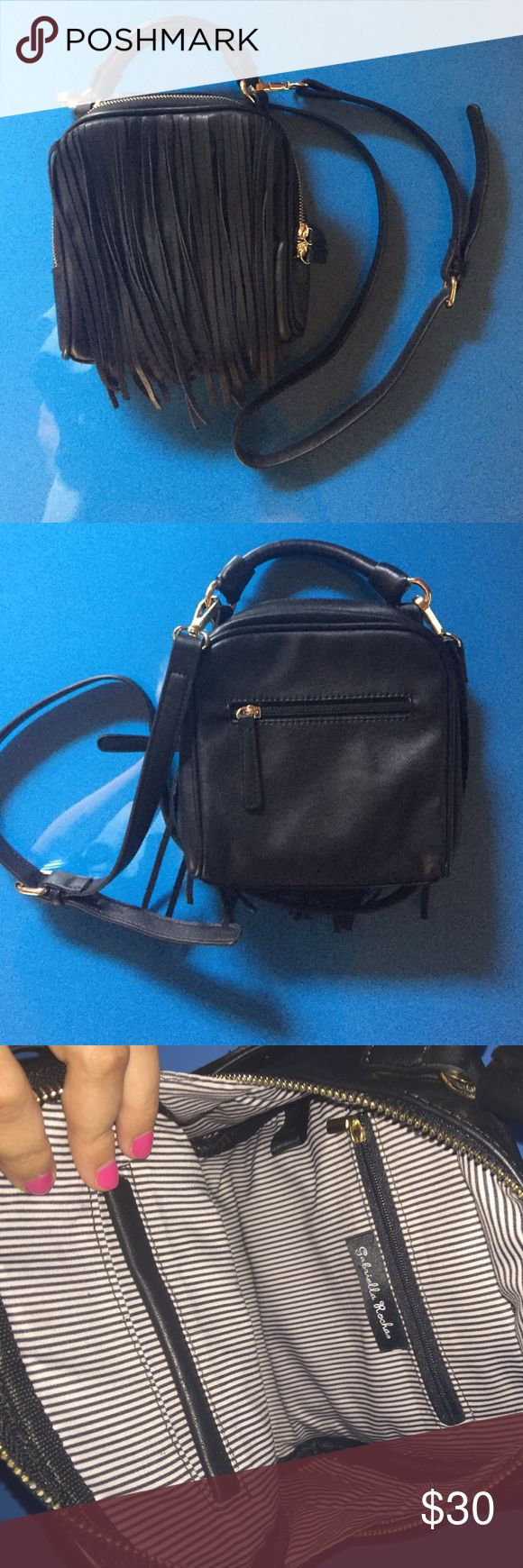 Gabriella Rocha Black Fringe Crossbody Brand new without tags! Perfect condition with absolutely no wear or damage. Gabriella Rocha Bags Crossbody Bags