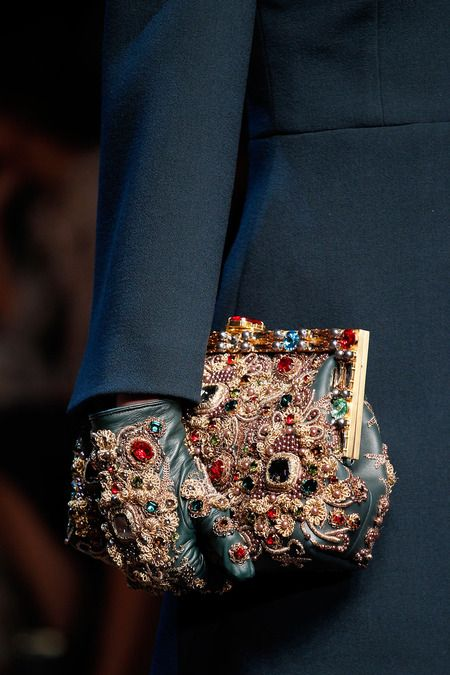 dolce & gabbana, fall 2014. Over the Top and Fabulous, I think they will go well with jeans.