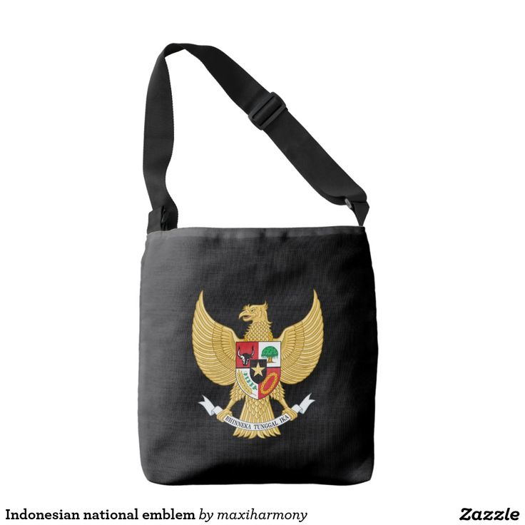 Indonesian national emblem tote bag