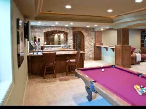 8 best games room ideas - think basement images on pinterest