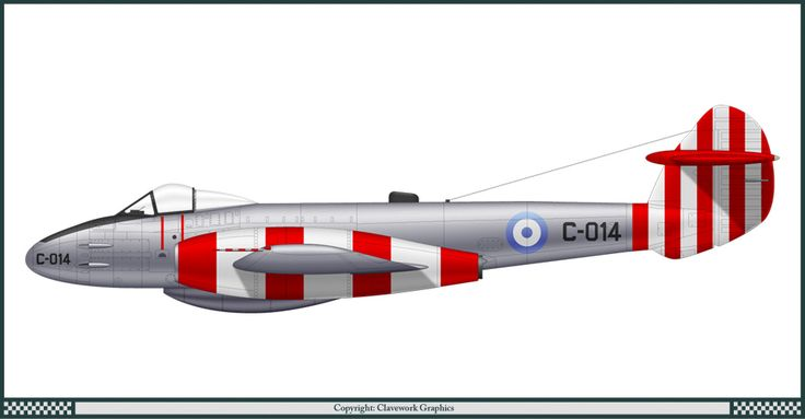 Gloster Meteor F.4 - Argentine Air Force 1960