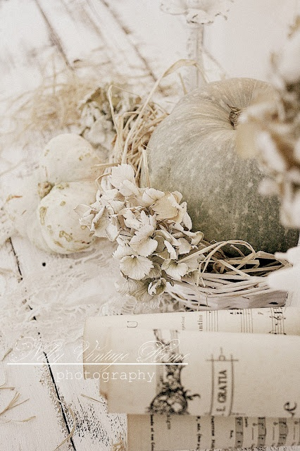 nelly vintage home: Warm autumn and pumpkins