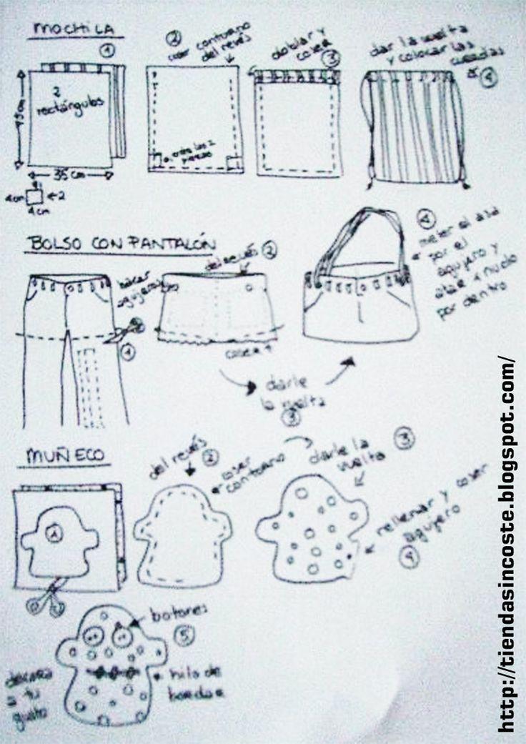 Las mejores 17 imágenes de Blusas de Teresa Cardenas en Pinterest ...