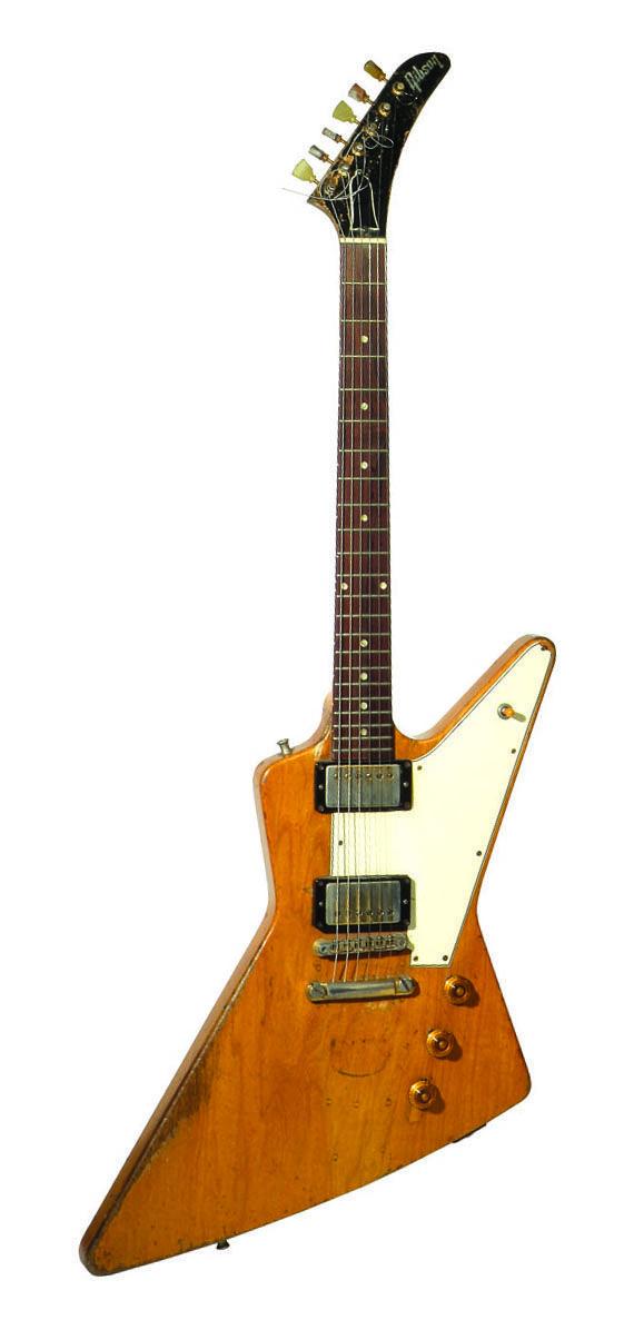Rick Nielsen | '58 Gibson Explorer.