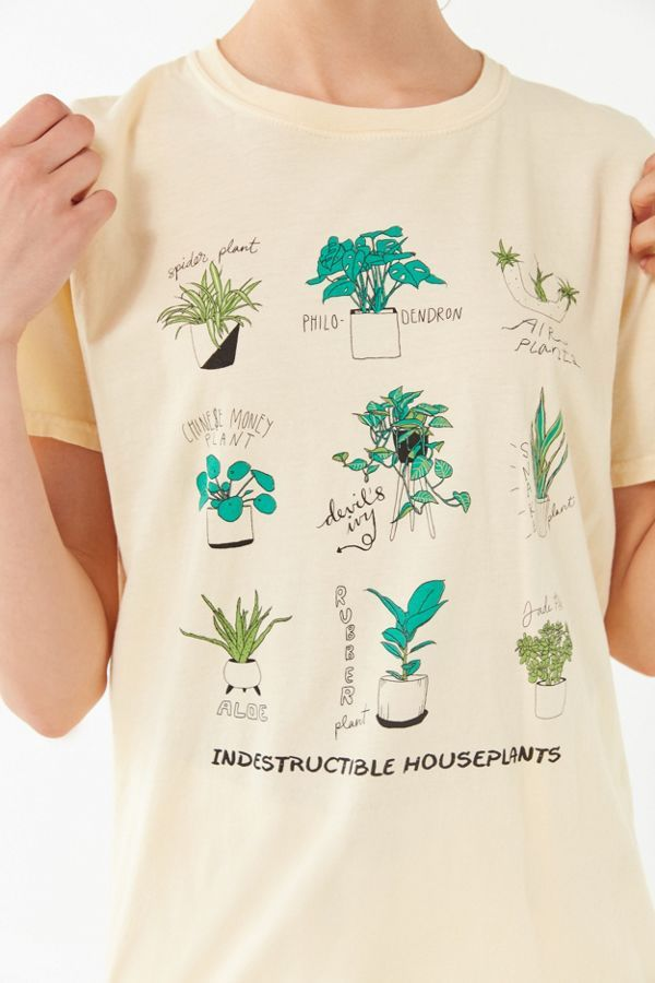 Slide View 1 Project Social T Houseplants Tee Floral Tee Shirts Jeans And T Shirt Outfit Urban Outfitters Tee