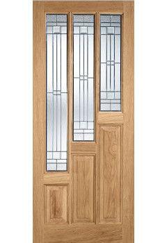 External Door Oak Coventry with Zinc Lead double glazed