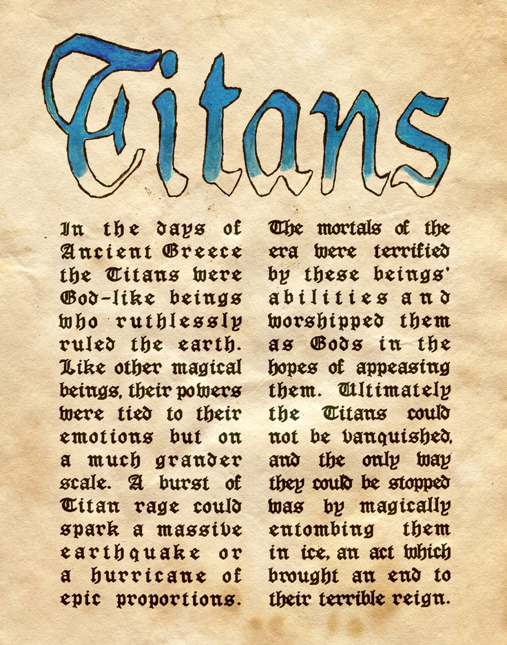 """""""Titans"""" - Charmed - Book of Shadows                                                                                                                                                      More"""