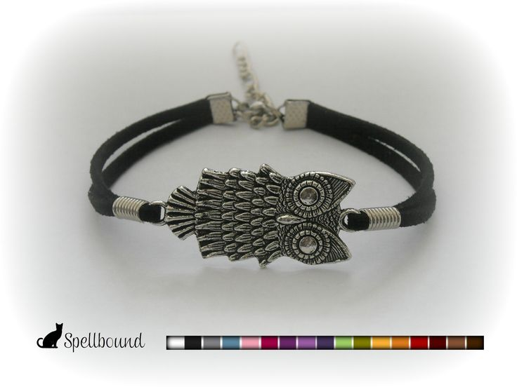 Owl Infinity Bracelet, Friendship Bracelet