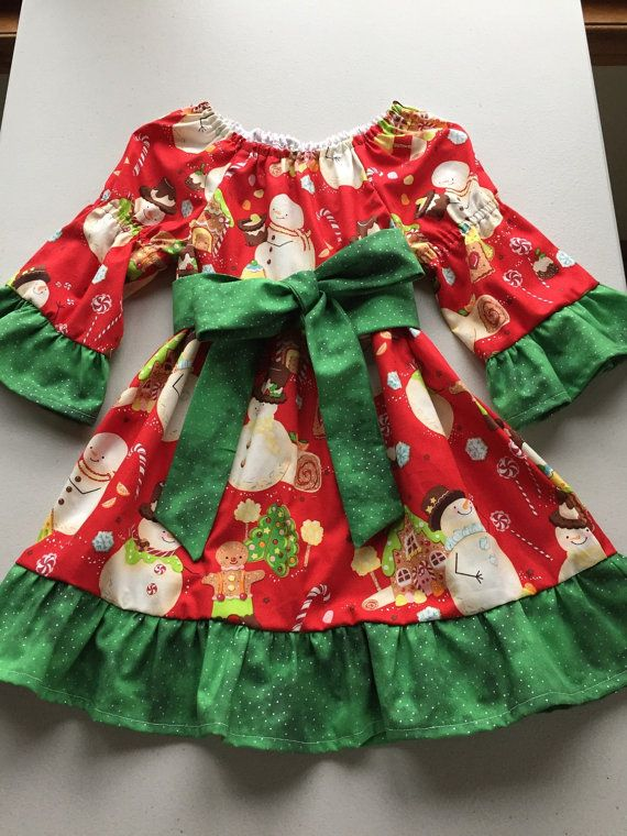 Girls Christmas Dress, Baby Girl Christmas Dress, Toddler Girl Christmas Dress, Toddler Holiday Dress, Toddler Girl Christmas Outfit