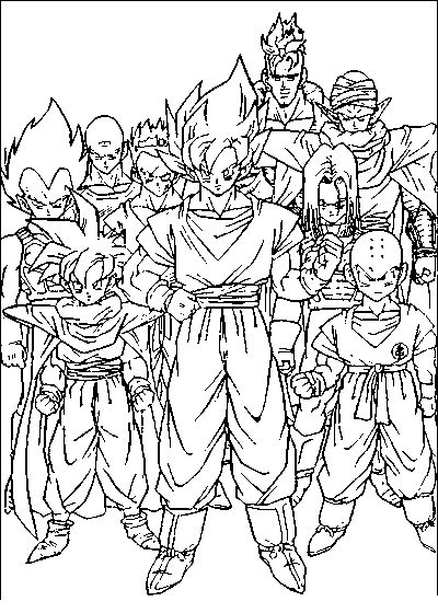 dragonball z coloring pages dragon ball coloring pages printable coloring pages
