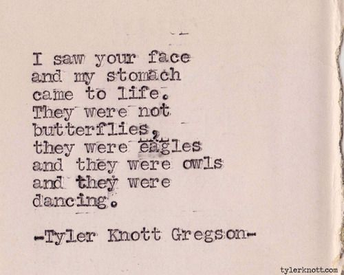 outcamethesun: Typewriter Series #261 by Tyler Knott Gregson
