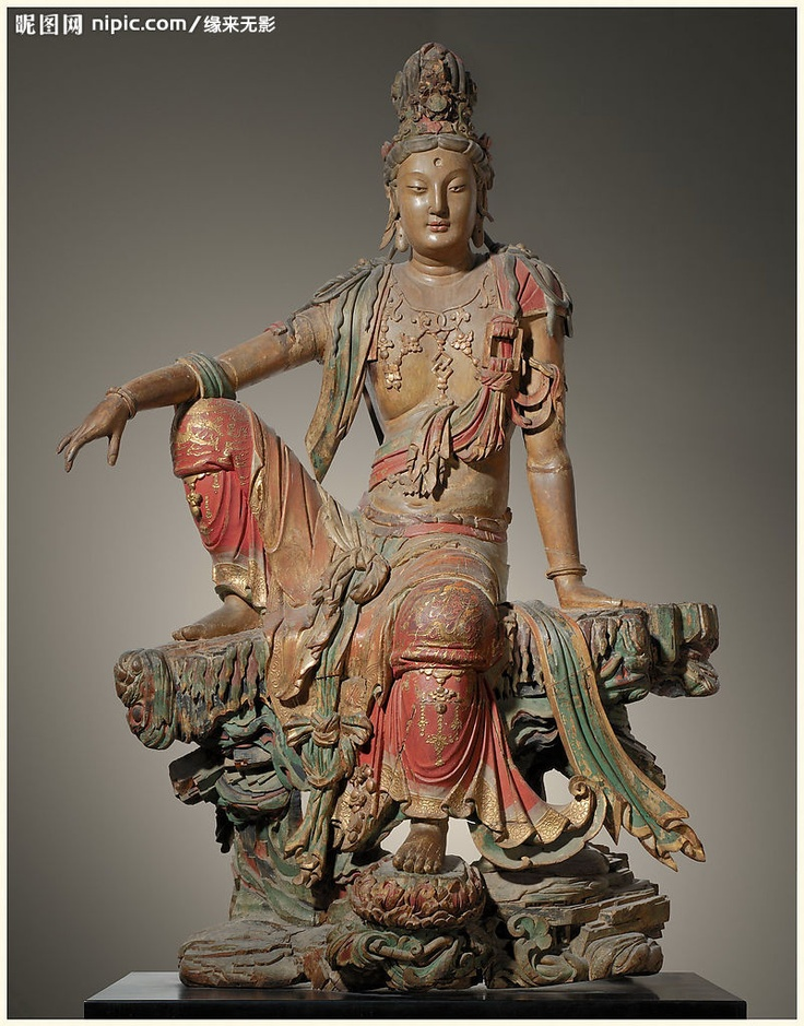 Guanyun: the Bodhisattva of compassion or goddess of mercy http://www.nipic.com/show/2/48/ba71f63a7d223b4e.html