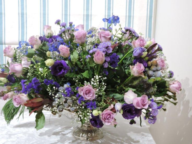 Beautiful purples and lavenders