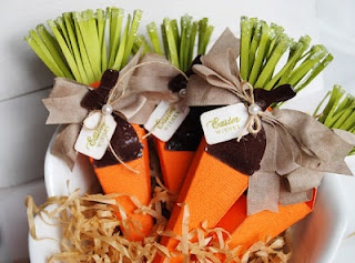 Easter Carrots and a Tutorial!  from Thoughts of a Cardmaking Scrapbooker! by MicheleCarrots Ideas, Easter Carrots, Cones Die, Carrottreatsjpg 600444, Carrots Boxes, Easter Treats, Petals Cones, Cardmaking Scrapbook, Carrots Treats Jpg 600 444