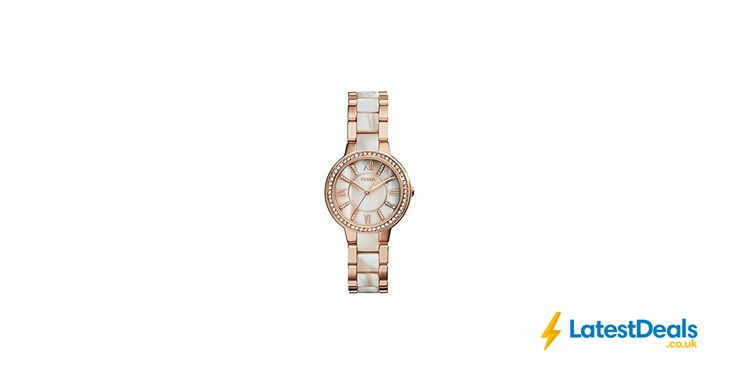Fossil Women's Watch Free Delivery, £78.02 at Amazon UK