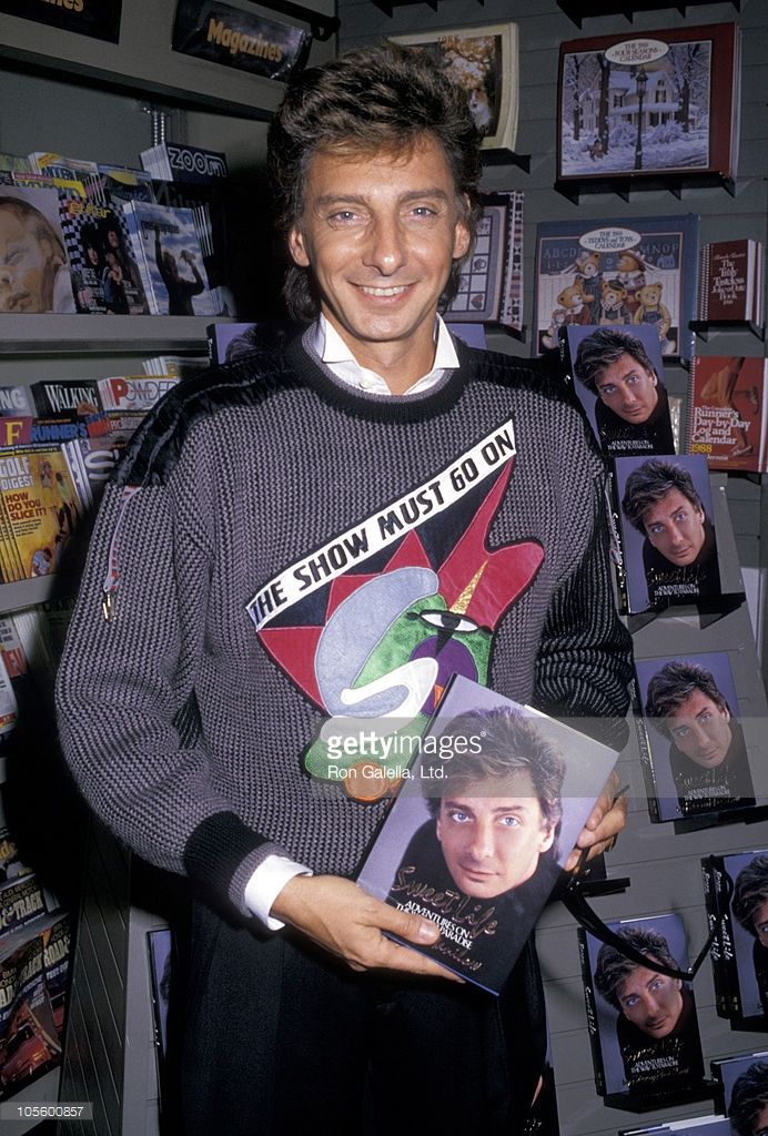 Barry Manilow during 'Sweet Life' Publication Party - October 13, 1987 at B. Dalton's Bookstore in New York City, New York