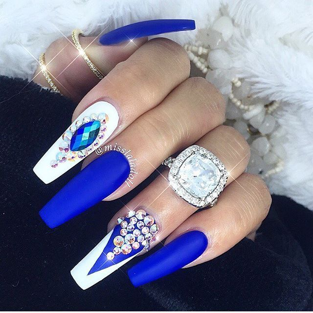 Will need to shorten the nails and make some slight changes but otherwise  really stunning design idea! - Best 25+ Exotic Nail Designs Ideas On Pinterest Exotic Nails