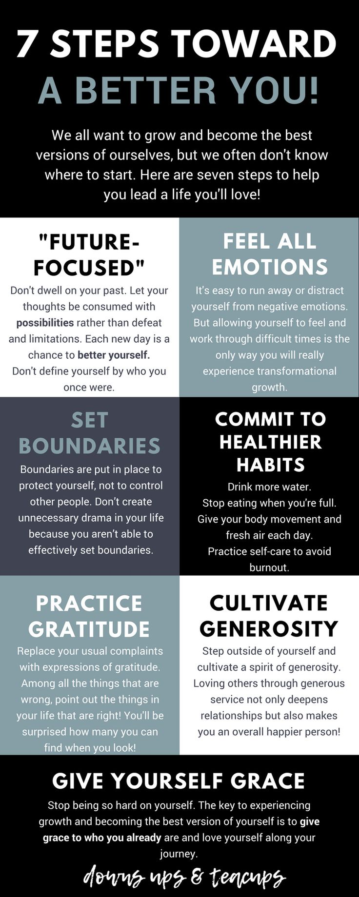 7 Steps Toward A Better You