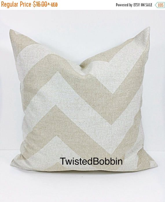 SALE BEIGE PILLOW Cover.Oatmeal. pillow cover.Zippy.