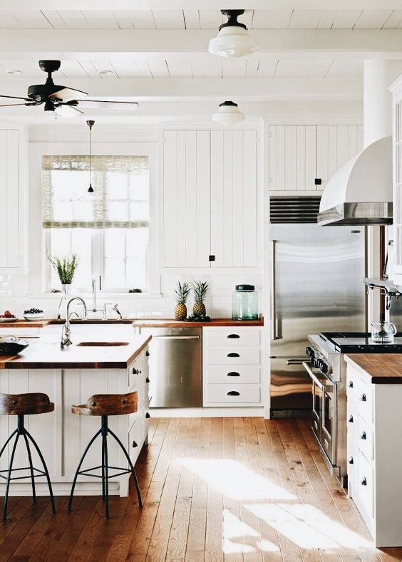 Farmhouse kitchen #kitchen #interior #interiordesignideas