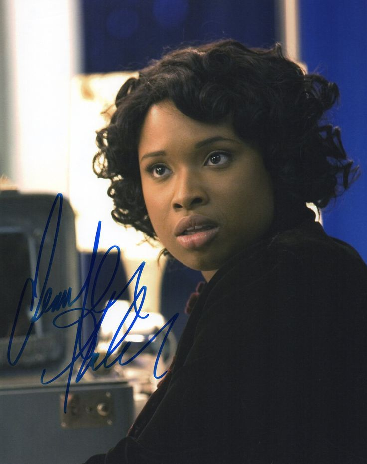 "Jennifer Hudson Signed 8"" x 10""  Autographed 8"" x 10"" signed by Jennifer Hudson, from her 2005 casting in the role of Effie White for the film adaptation of the musical Dreamgirls."