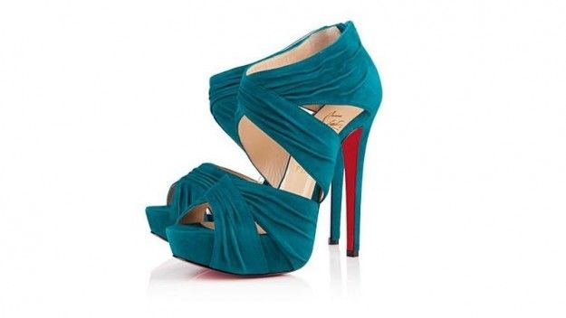 Christian Louboutin, ankle boot Bandra in suede