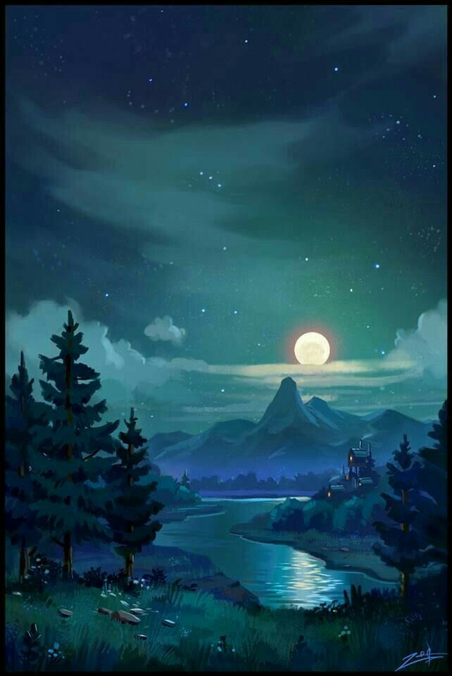 Pin By Peachie Charms On Our Beautiful Planet Anime Scenery Landscape Art Fantasy Landscape