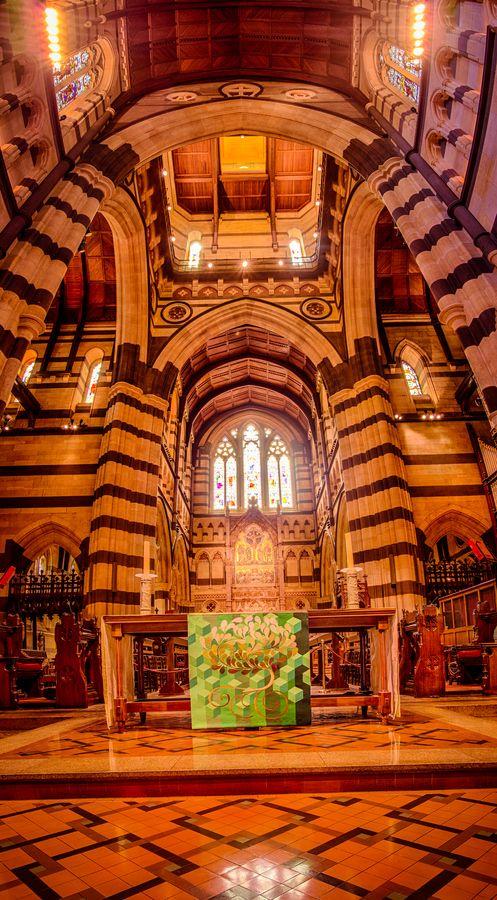 St Paul's Cathedral Pulpit, Melbourne, Australia