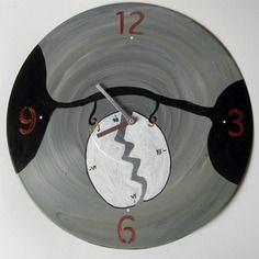 Horloge le temps passe vinyle 33t