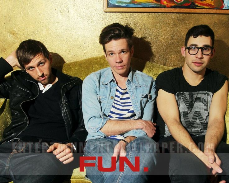 I have concluded that all three members of the band fun. are gorgeous :)