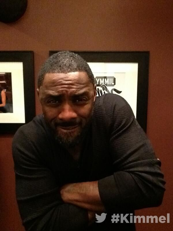 Idris Elba at Jimmy Kimmel Live