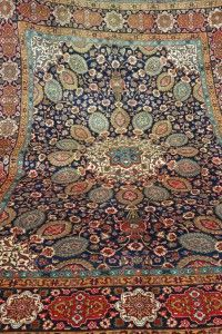 Four Year Fabulous - Provenance Auction House: Tabriz Carpet.
