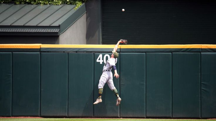 White Sox 7, Tigers 3 -  May 28, 2017:   Tigers center fielder Alex Presley can't make the catch on a home run by White Sox designated hitter Matt Davidson in the fourth inning.