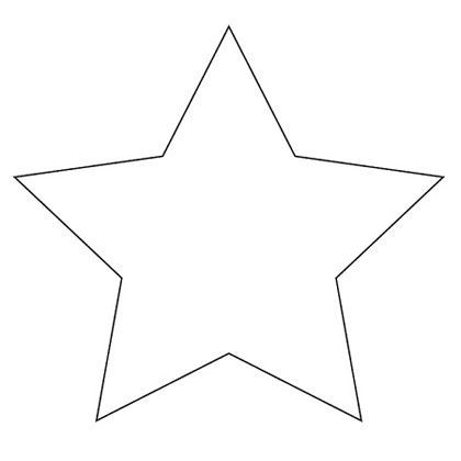 Printable Star Pattern