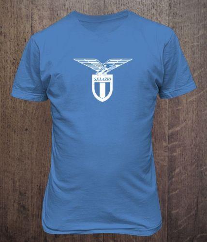 Lazio-Italia-Italy-Lega-Calcio-Soccer-T-Shirt