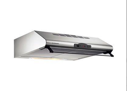 απλός απορροφητήρας κουζίνας με δύο μοτέρ μήκος 60 εκ, τιμή 66 Ε ΜΕ ΦΠΑ, PYRAMIS, απορροφητικότητα 450 μ3/ώρα