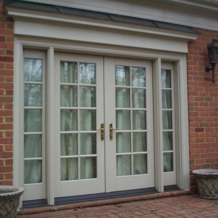 Pella Exterior French Doors Screens
