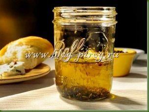 чесночное масло, кипрская кухня, кухня кипра, лимонное оливковое масло, рецепт с фото, чесночное масло в домашних условиях, масло с травами
